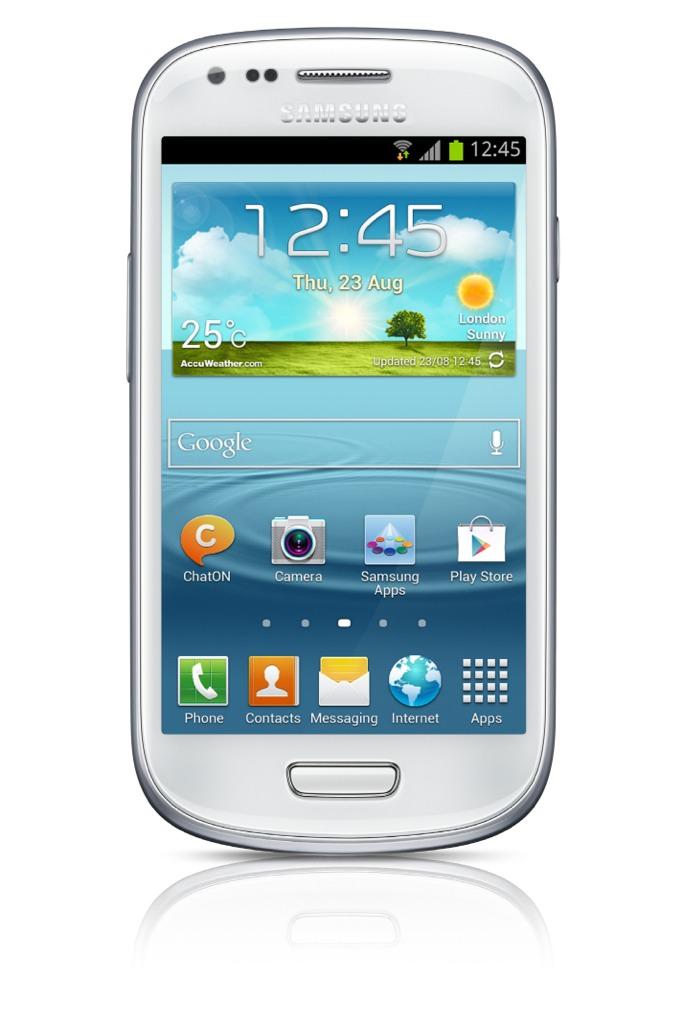 Samsung GALAXY S III mini: massima potenza in un design compatto ed elegante