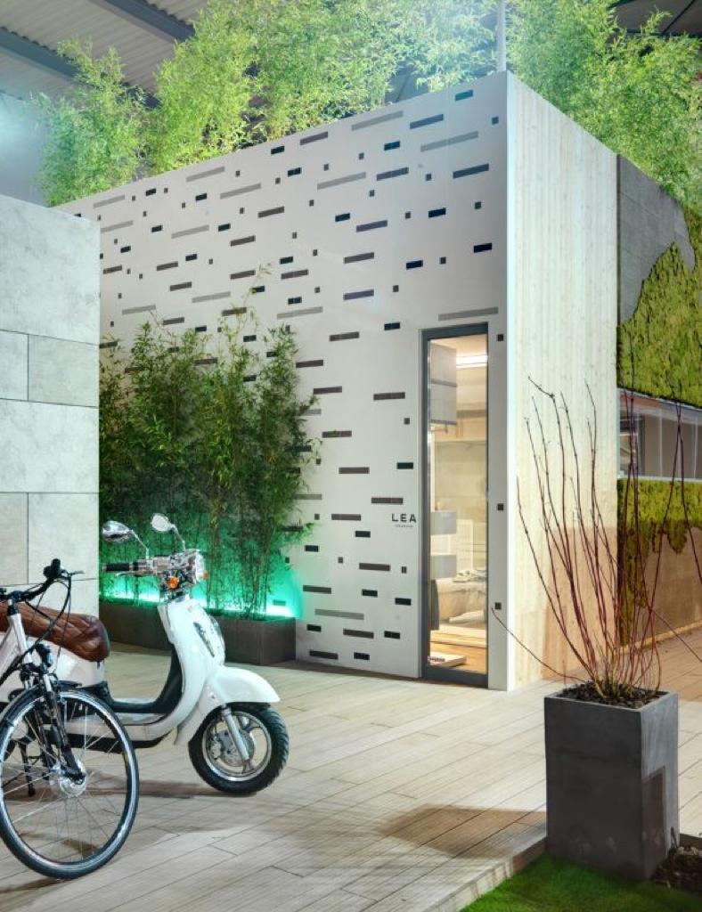 Lea Ceramiche @ Space for Life by Marco Piva. Soluzioni per un'edilizia sostenibile