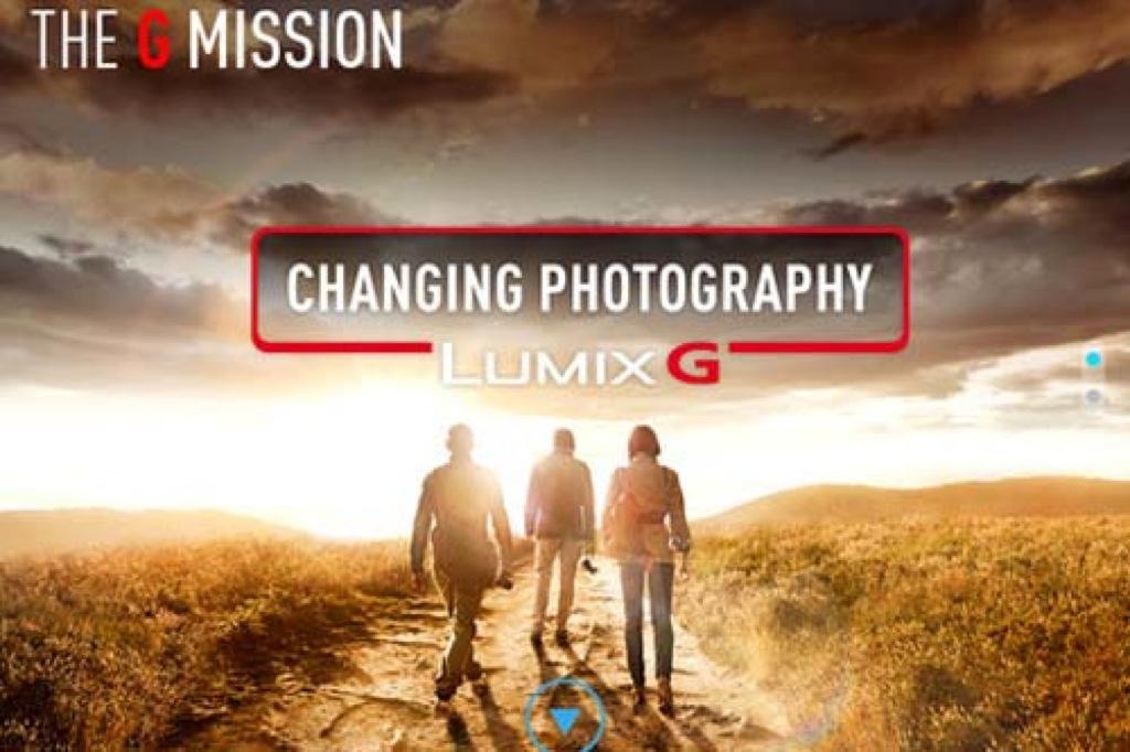 "Panasonic lancia la nuova app ""LUMIX G"" disponibile su IPad e tablet Android"