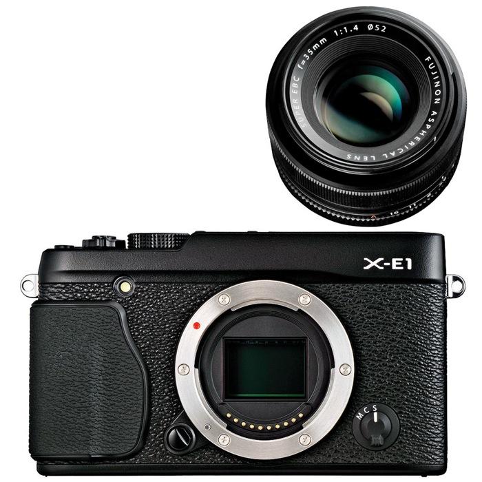 A Natale regala una fotocamera Fujifilm: per la qualità alla portata di tutti, FUJIFILM X-E1