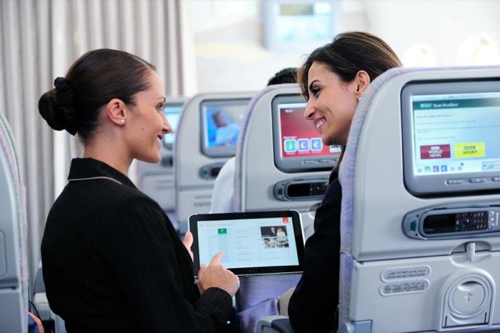 HP ElitePad prende il volo con Emirates Airlines