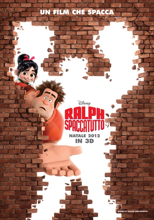 Nevica sul red carpet di Ralph Spaccatutto, il film di Natale della Disney