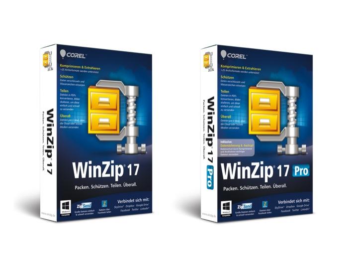 Protezione e condivisione dei file su cloud e social media con WinZip 17