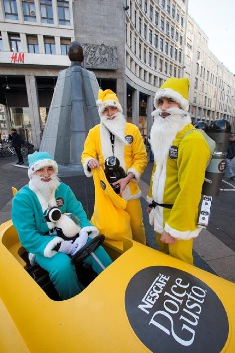 """Arriva a Milano il primo """"Natale futurista"""" voluto da Nescafé Dolce Gusto"""