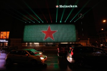 Heineken 140 Year Celebration Spectacular In Amsterdam