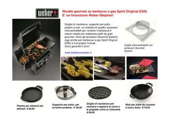 gourmet system per spirit