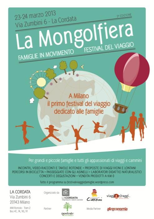 La Mongolfiera, Festival del viaggio, Famiglie in Movimento