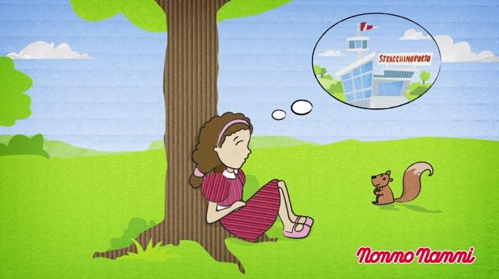 Arriva il cartone animato di nonno nanni al via i video