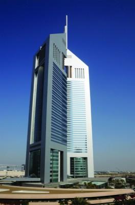 Emirates Towers in Dubai, United Arab Emirates