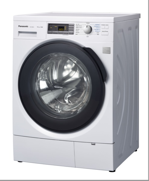 Panasonic amplia la gamma di elettrodomestici ecocompatibili con le nuove asciugatrici e lavatrici a vapore