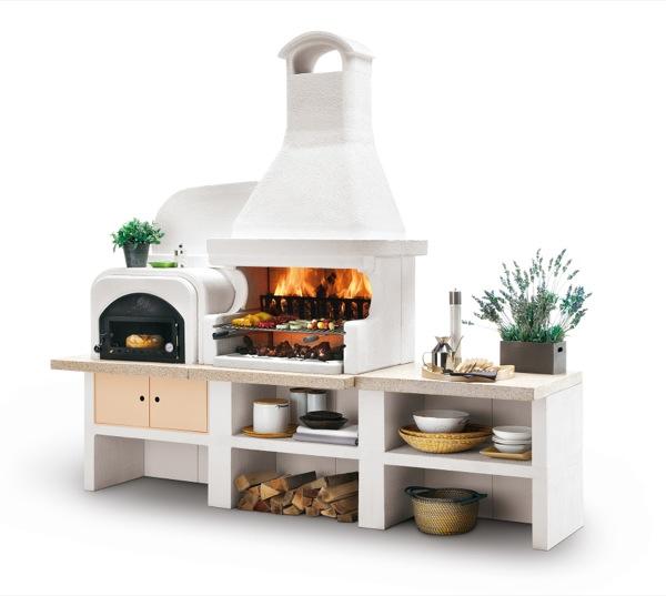 Voglia di vivere e cucinare all aria aperta con i barbecue for Barbecue oslo palazzetti