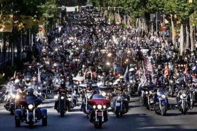 harley parade