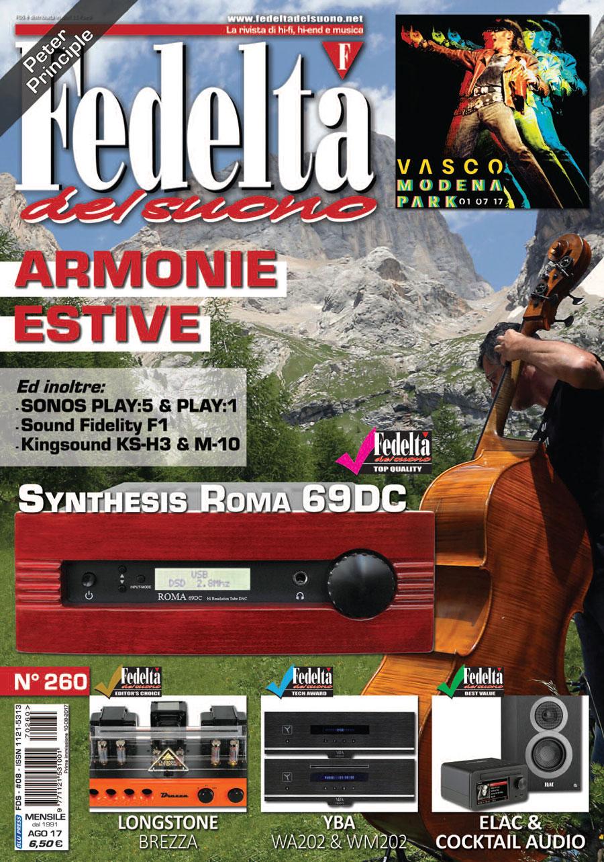 FEDELTÀ DEL SUONO n. 260 – Agosto 2017