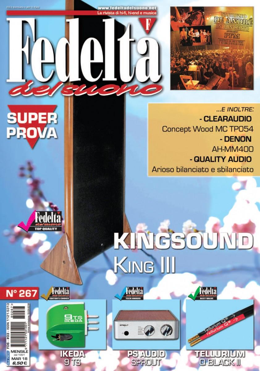 FEDELTA' DEL SUONO #267 – Marzo 2018
