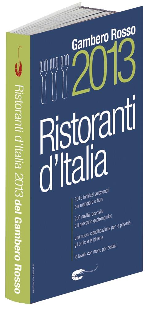 Guida ai Ristoranti d'Italia 2013 – Gambero Rosso