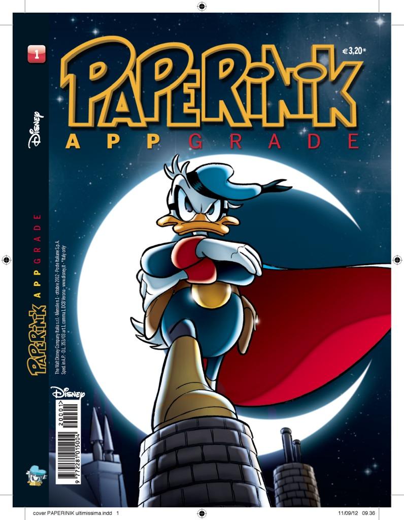 Paperinik Appgrade è il primo magazine apparentemente digitale.