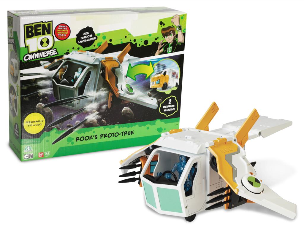 Giochi Preziosi, lancia la nuova linea di giocattoli brandizzata Ben 10
