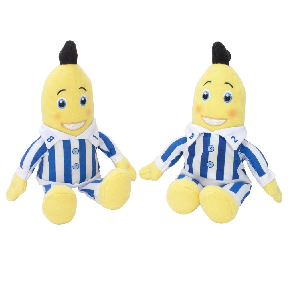 PTS srl distribuisce i toys parlanti di Bananas in Pigiama