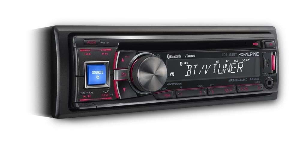 Alpine CDE-135BT: la prima Internet radio!