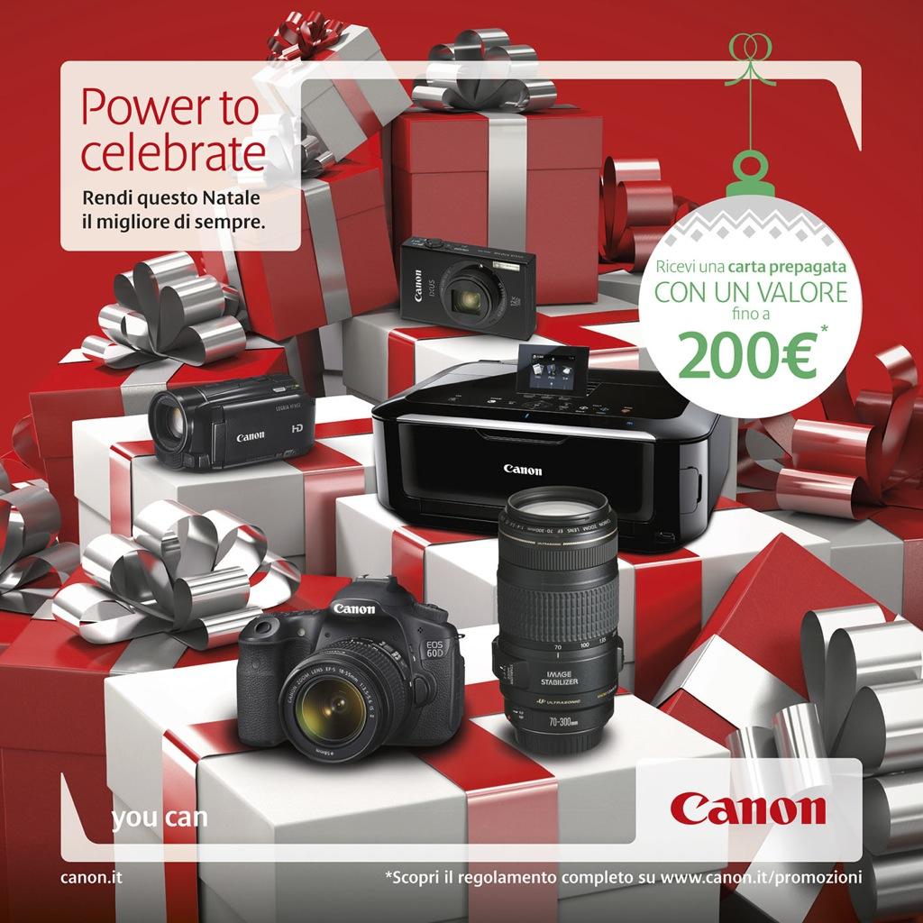 Power to Celebrate: al via la campagna promozionale natalizia Canon