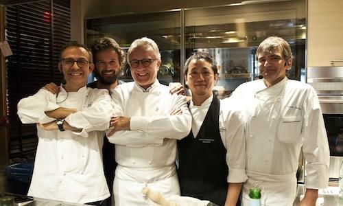 Ducasse-Bottura: nel dialogo tra il maestro francese e l'allievo italiano, presente e prospettive dell'alta cucina