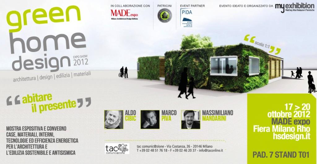 """Green home design """"abitare il presente"""" – Architettura, design, edilizia, materiali"""
