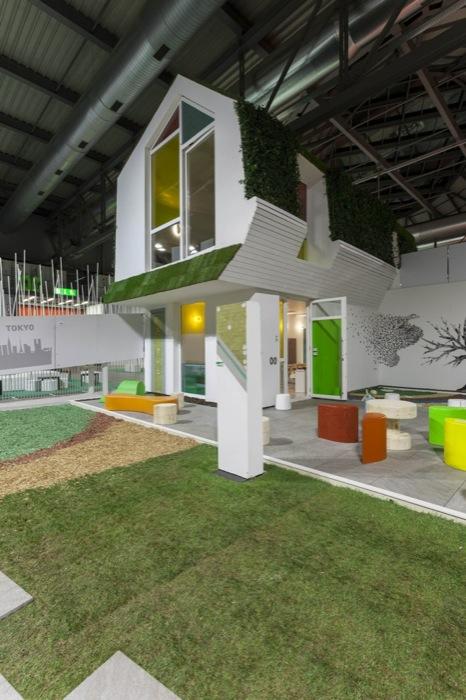 Green home design 2012: oltre il successo nel segno dell'architettura sostenibile