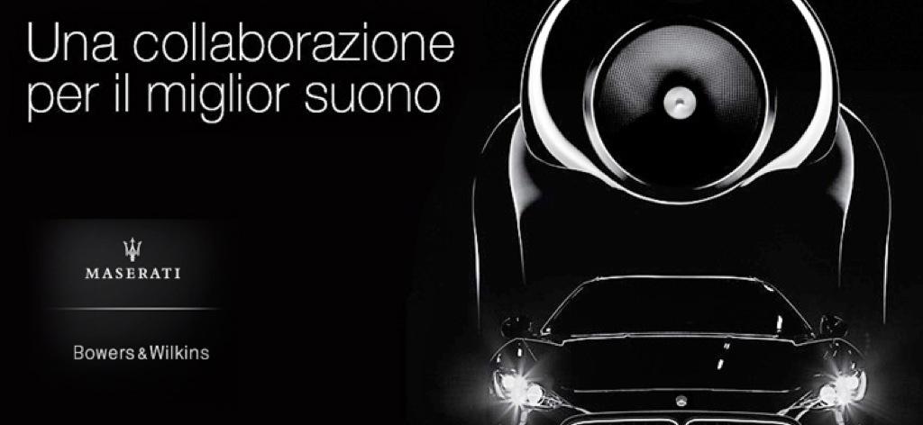 B&W e Maserati, binomio di eccellenza