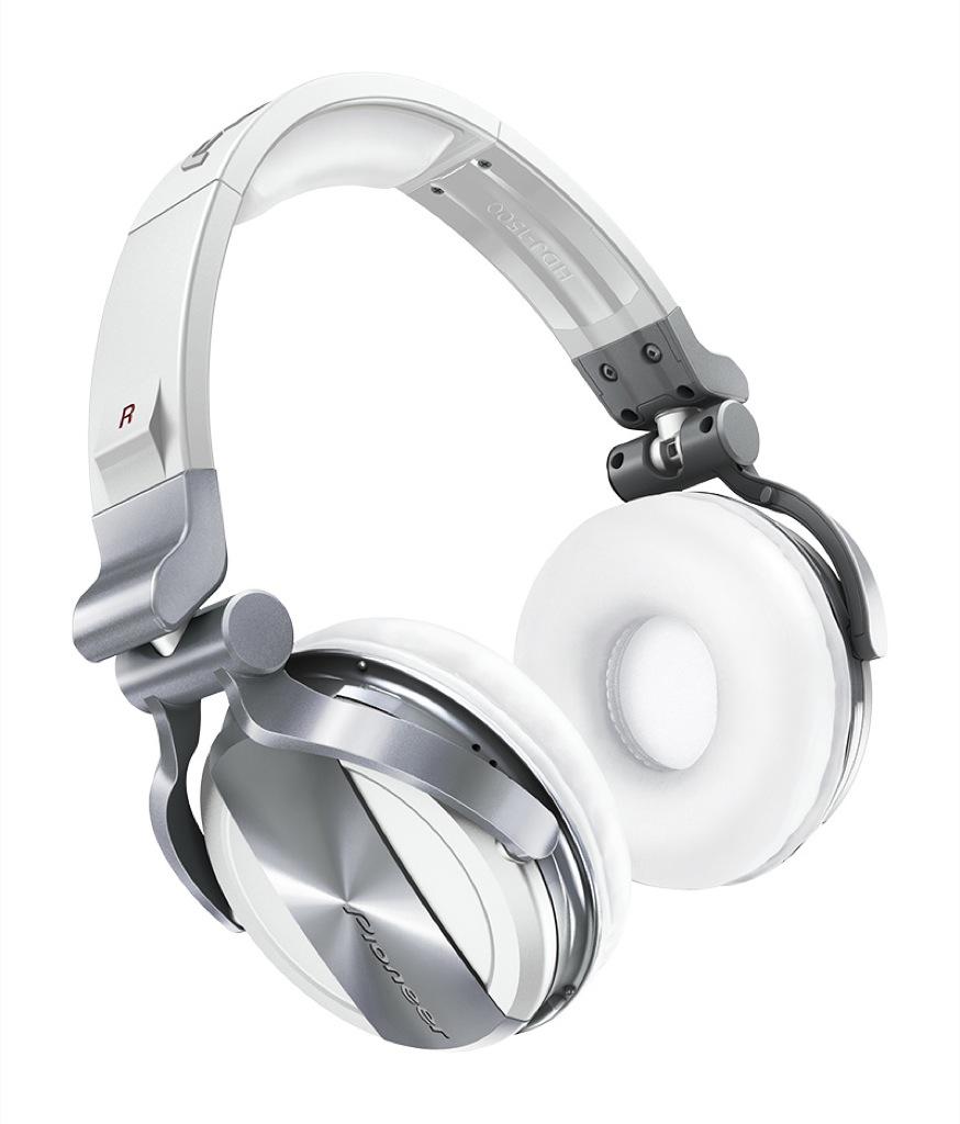 Ancora più scelta: le cuffie professionali HDJ-2000 e HDJ-1500 Pioneer disponibili in bianco opaco