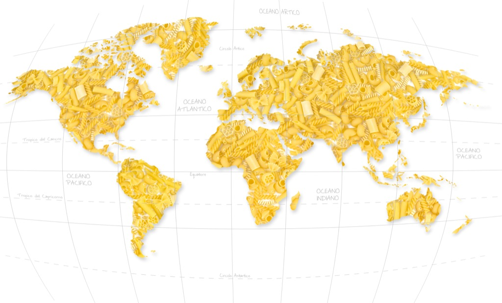 WORLD PASTA DAY 2012: inarrestabile la passione per la pasta italiana: superati 13 miliardi di piatti made in Italy nel mondo