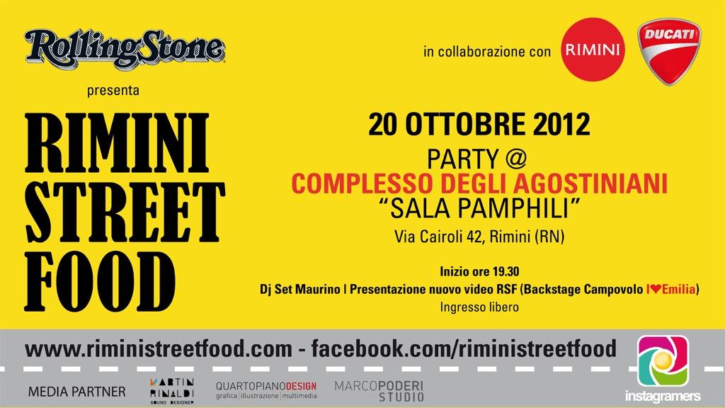 Rimini Street Food sul palco con i big di Italia loves Emilia