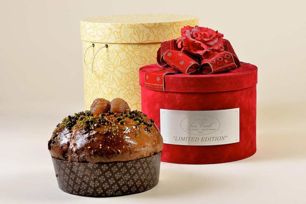 Natale 2012 ancora più dolce ed esclusivo: a grande richiesta anche quest'anno la Limited Edition del Panettone San Carlo