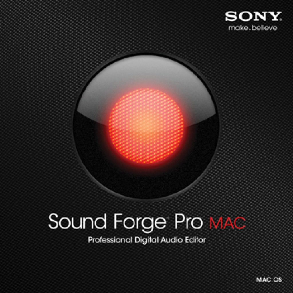 SONY ANNUNCIA IL NUOVO SOUND FORGE™ PRO MAC AUDIO SOFTWARE PER LA REGISTRAZIONE, L'EDITING ED IL MASTERING AUDIO PER OS® X