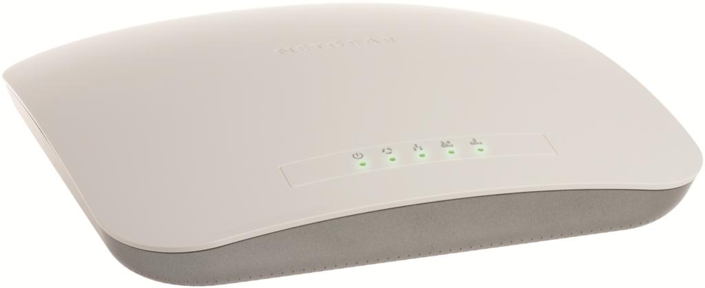 Gli access point dual-band NETGEAR PROSAFE  offrono una velocità superiore del 50%, protezione avanzata con WIDS e WIPS, QoS e gestione di banda dedicati