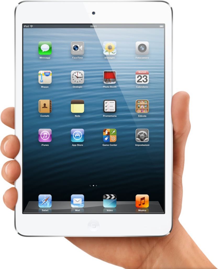 Ecco l'iPad Mini…display da 7″ a partire da 329€