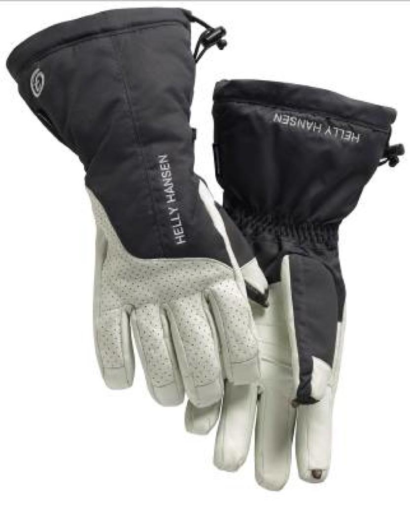 Helly Hansen guanti da sci con tecnologia On Tip: per rispondere allo smartphone touch screen senza  sfilare i guanti da sci