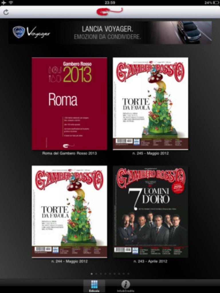 Gambero Rosso apre i contenuti della guida Ristoranti d'Italia su Windows 8