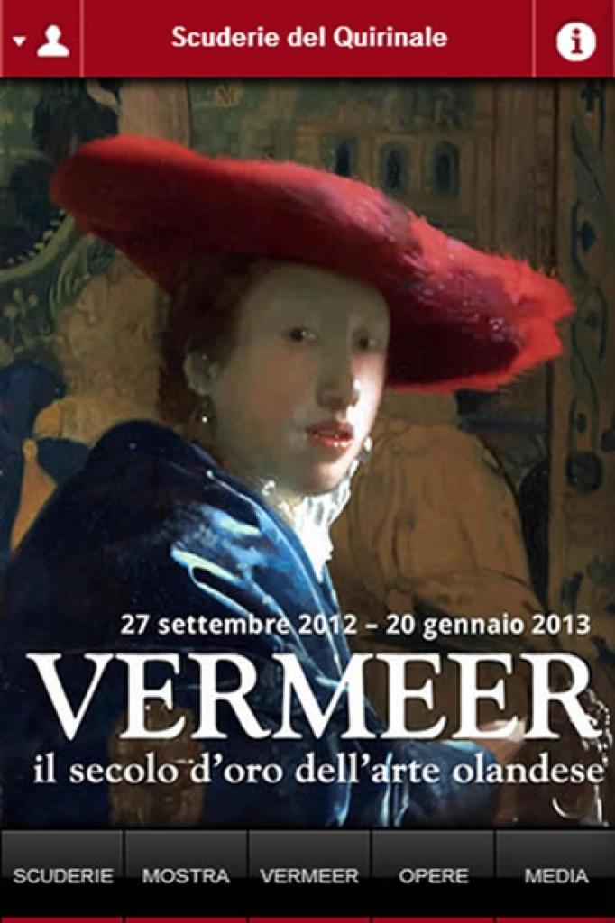 """L'App ufficiale per iPhone e iPad """"Vermeer e il secolo d'oro dell'arte olandese"""""""