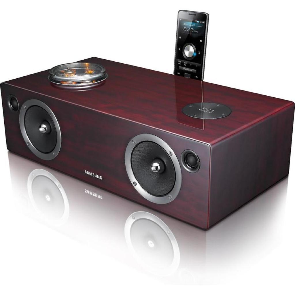Samsung wireless audio dock DA-E750, l'anima tech dell'eleganza