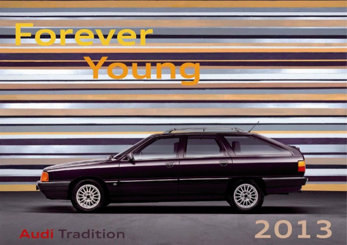 """Forever Young"" – Il calendario Audi Tradition"