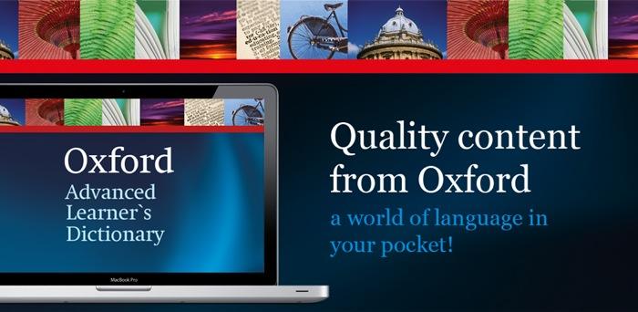Il dizionario più venduto al mondo per gli anglofoni non madrelingua – Il dizionario Oxford Advanced Learner's Dictionary ora disponibile per Mac OS X!