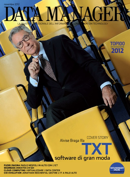La classifica delle società di software e servizi in Italia a cura di IDC e Data Manager – XXVI Edizione 2012