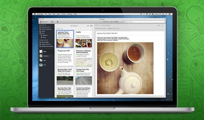 Il nuovo Evernote 5 per Mac