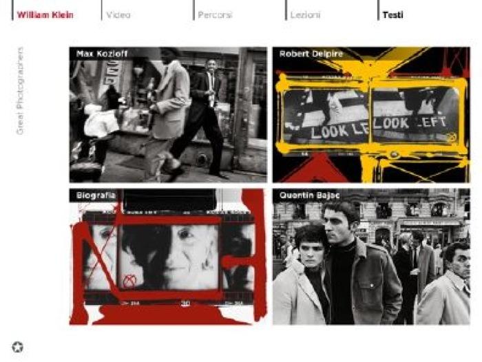 WILLIAM KLEIN: App per iPad e iPhone