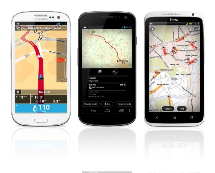TOMTOM APP per ANDROID V1.1: su tutti gli smartphone