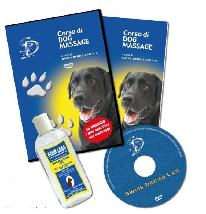 In DVD e dispensa, Swiss Dermo Lab realizza il primo corso italiano di Dog Massage