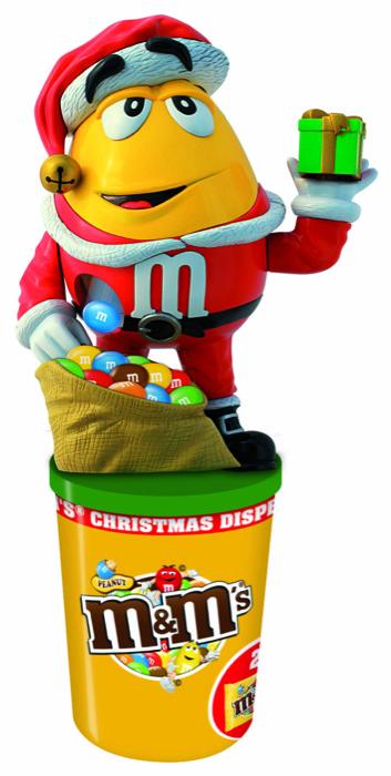 Feste di fine anno all'insegna del colore e del divertimento con la Limited Edition e il Dispenser natalizi firmati M&M's!