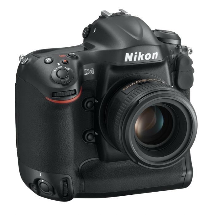 A Nikon D4 e Nikon 1 l'iF Product Design Award