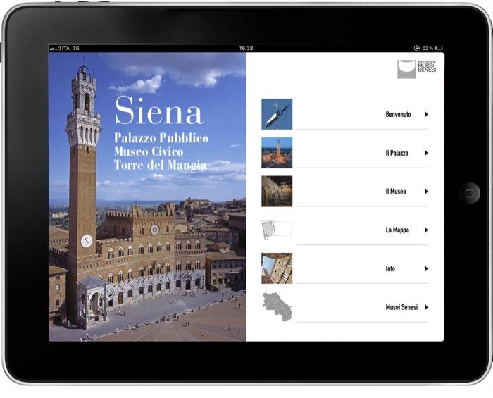 """Ecco la App """"Museo Siena"""" per smartphone e tablet: il Museo Civico di Siena come non lo avete mai visto"""