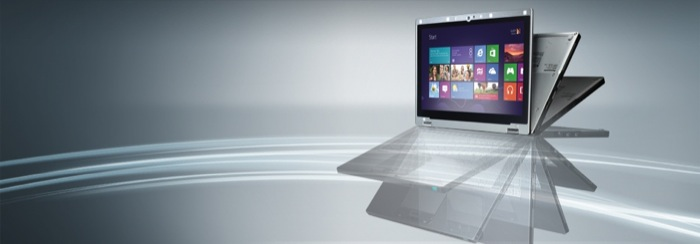 Ultrabook Panasonic con Windows 8 Pro: con il design flip-over, il nuovo Panasonic Toughbook CF-AX2 è pensato per i mobile worker